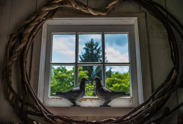 Pennsylvania Barn Photograph - Love Birds by Kristopher Schoenleber
