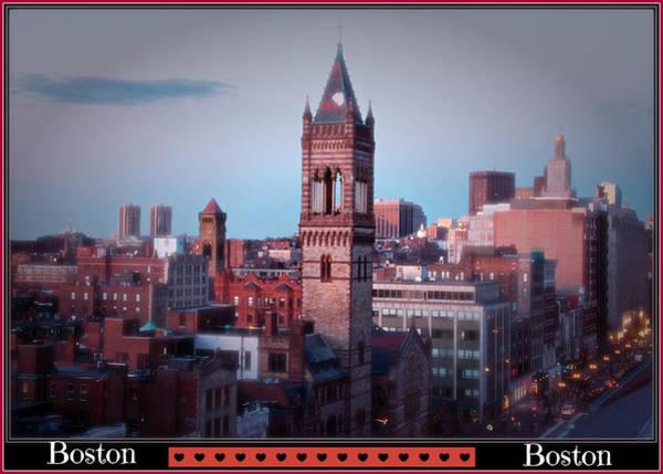 Photograph - Love Boston by Alice Gipson