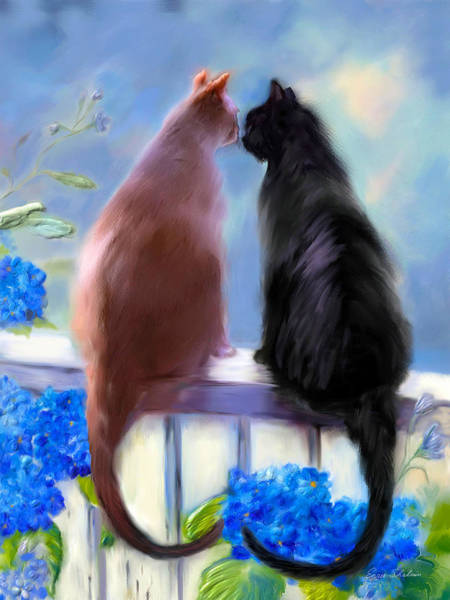 Painting - Love Buddies by Portraits By NC