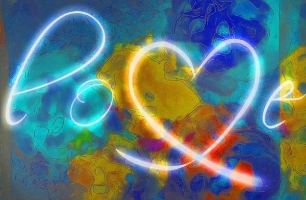 Digital Art - Love Finger Paints by Catherine Lott