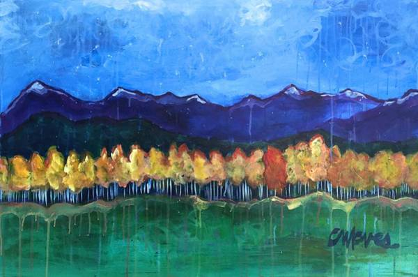 Painting - Love For Aspens by Laurie Maves ART