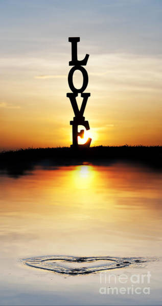 Photograph - Love Heart by Tim Gainey