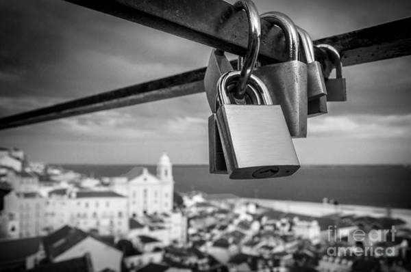 Together Forever Photograph - Love In Lisbon by Carlos Caetano