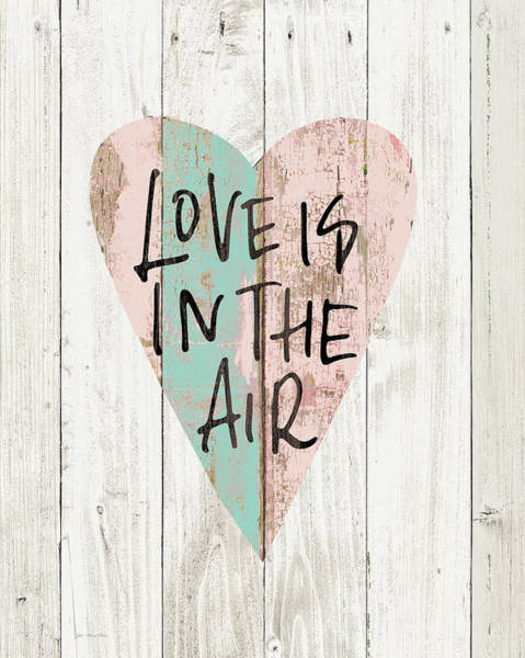Wall Art - Painting - Love In The Air by Jo Moulton
