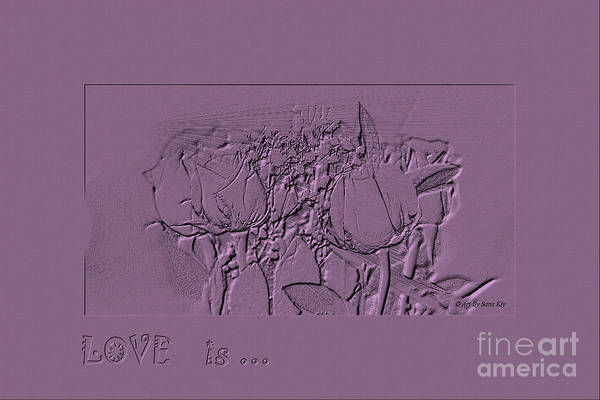 Digital Art - Love Is... Collection 22. Romantic by Oksana Semenchenko