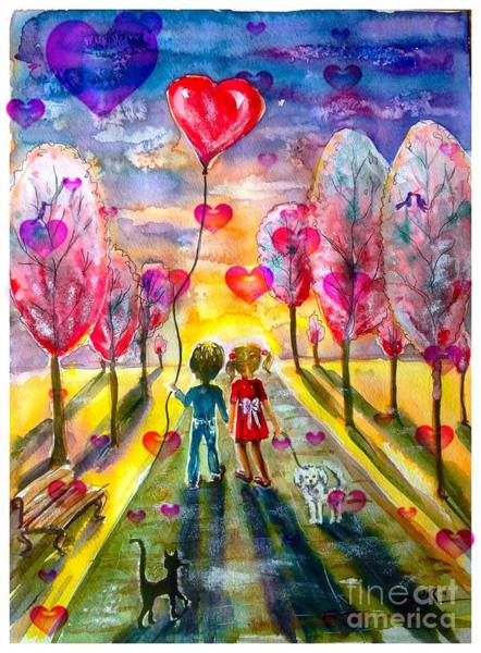 Love Is In The Air 2 Art Print