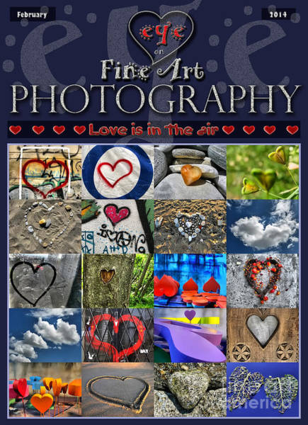 Photograph - Love Is In The Air Magazine Cover Contest by Daliana Pacuraru