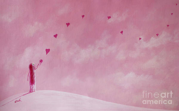 Wall Art - Painting - Love Is The Best Forever Gift Collection By Shawna Erback by Erback Art