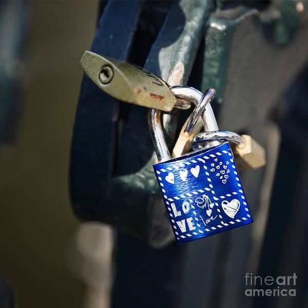 Wall Art - Photograph - Love Locks by Jane Rix