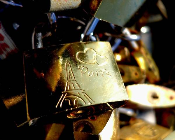 Photograph - Love Locks Of Paris by Toby McGuire