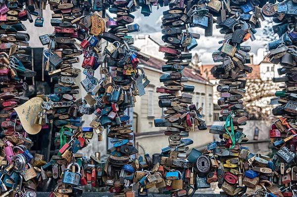 Bar Tender Photograph - Love Locks by Vessela Banzourkova