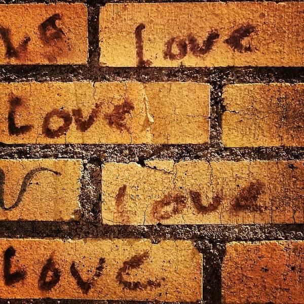 Wall Art - Photograph - Love Love Love by Julie Boland