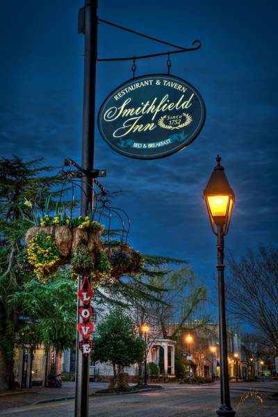Photograph - Love Main Street Before Dawn by Williams-Cairns Photography LLC