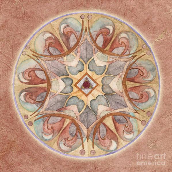 Painting - Love Mandala by Jo Thomas Blaine
