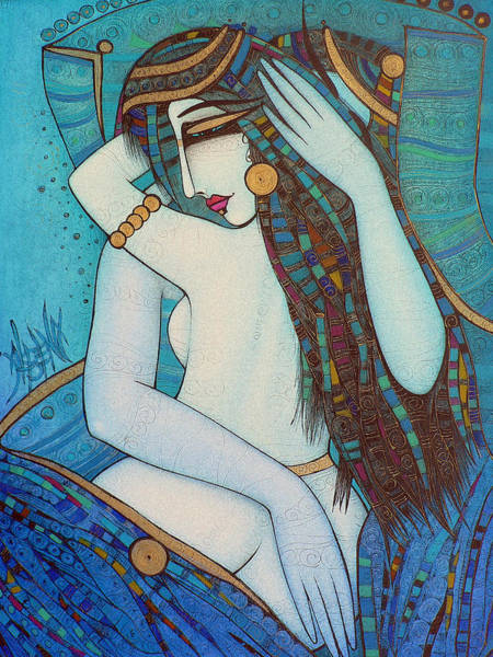 Wall Art - Painting - Love Me by Albena Vatcheva