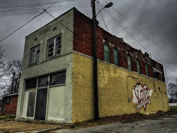Photograph - Love Memphis by Lance Vaughn