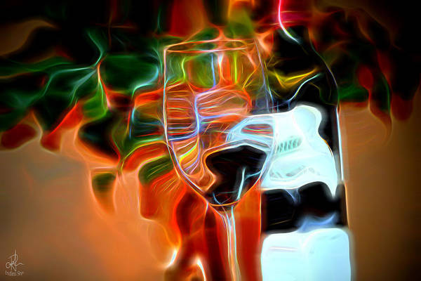 Photograph - Love My Wine - Bright Colours by Pennie McCracken
