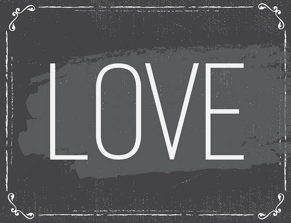 Wall Art - Painting - Love by Nd Art & Design