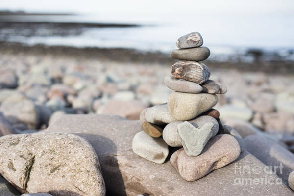 Bristol Channel Photograph - Love On The Beach by Anne Gilbert