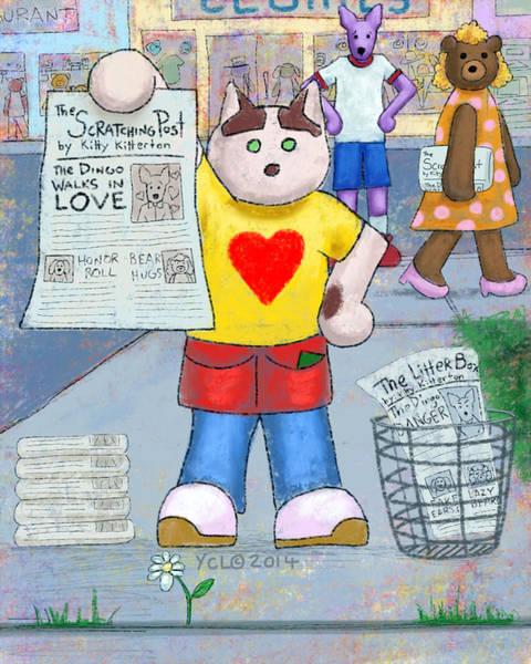 101 Digital Art - Love Rejoices In Truth by Yvonne Lozano