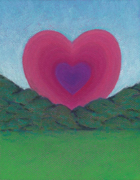 Pastel - Love Rising by Anne Katzeff