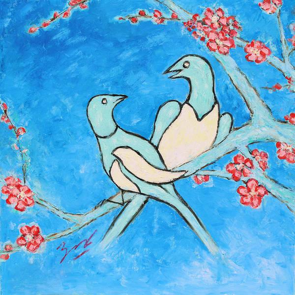 Painting - Love Season Iv by Xueling Zou