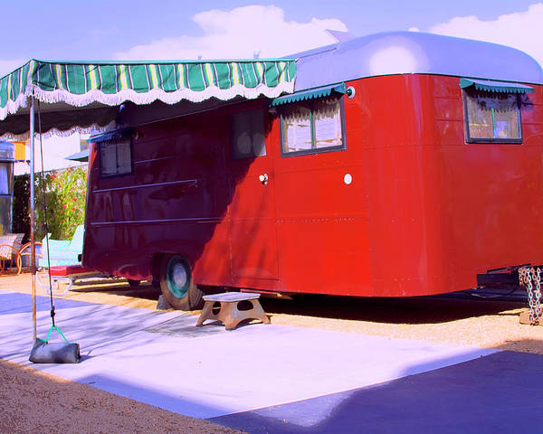 Wall Art - Photograph - Trailer Made Palm Springs by William Dey