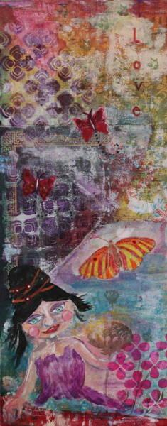 Wall Art - Mixed Media - Love by Shakti Chionis