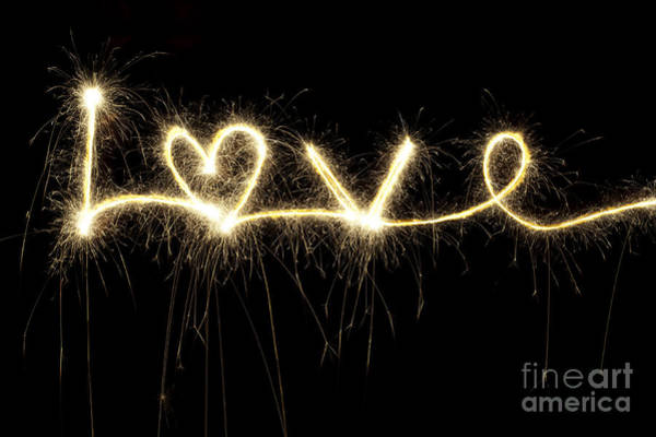 Love Photograph - Love Shines Brightly by Tim Gainey