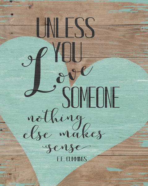 Wall Art - Painting - Love Someone by Jo Moulton
