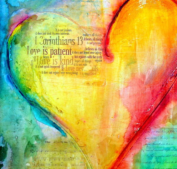 True Love Wall Art - Painting - Love Song by Ivan Guaderrama