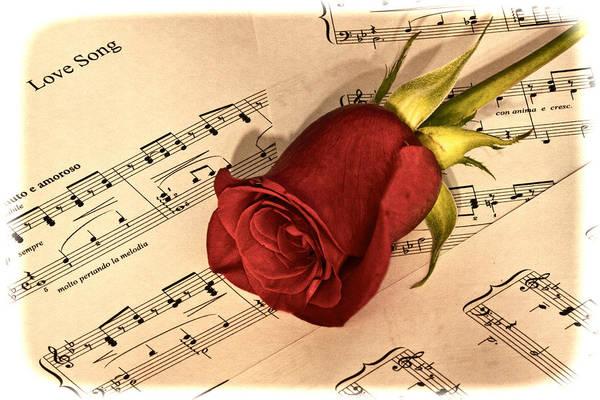 Love Song Art Print by Zev Steinhardt