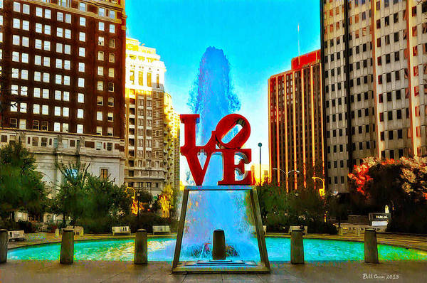 Photograph - Love Town by Bill Cannon