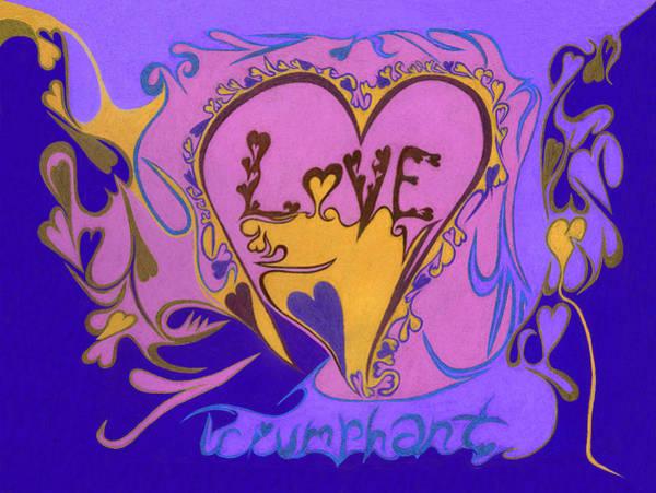 Love Triumphant Art Print