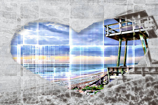 Photograph - Love Watchtowers by Alice Gipson