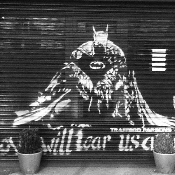 Superhero Wall Art - Photograph - Love Will Tear Us Apart #batman by Manchester Flick Chick
