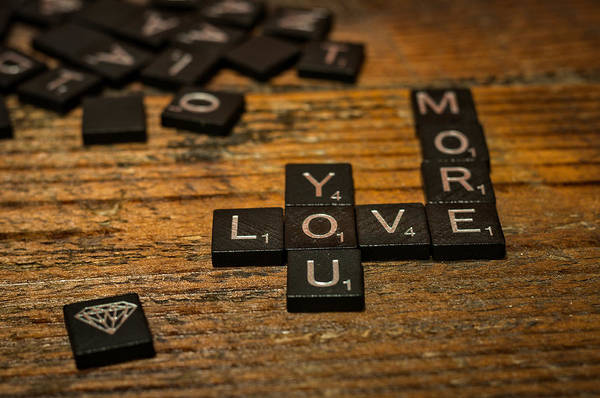 Photograph - Love You More by Andy Crawford