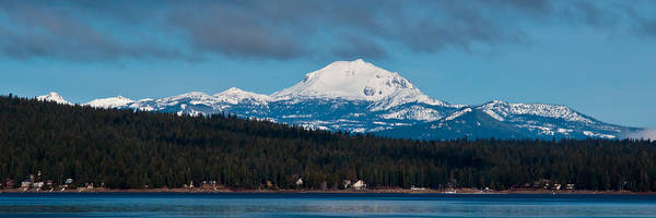 Plumas County Photograph - Lovely Lassen  by Jan Davies