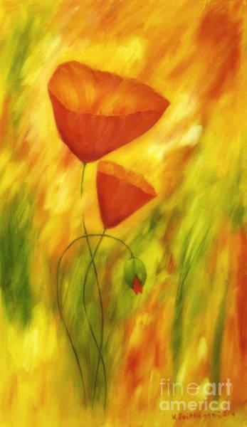Natural Light Painting - Lovely Poppies by Veikko Suikkanen