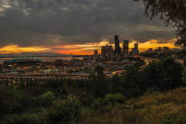 Photograph - Lovely Seattle by Gene Garnace