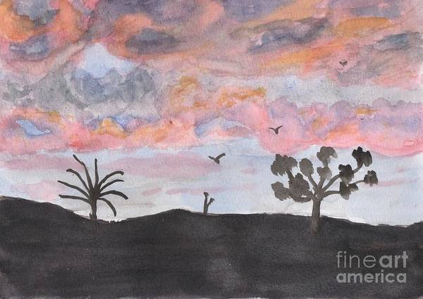 Wall Art - Painting - Lovely Sunrise by Pamela  Meredith