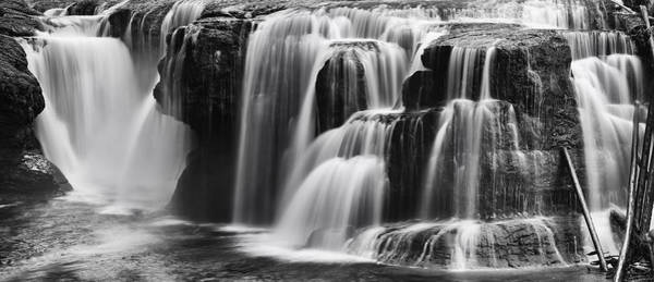 Photograph - Lover Lewis Falls Panorama by Mark Kiver