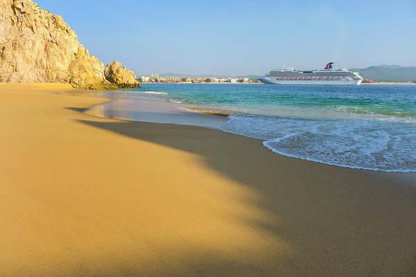 Lucas Photograph - Lovers Beach, Cabo San Lucas, Baja by Douglas Peebles