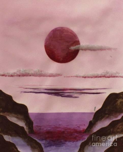 Mixed Media - Lovers Moon by David Neace