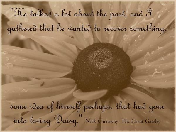 Photograph - Loving Daisy by Barbara St Jean