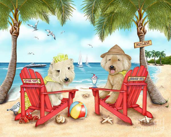 Mixed Media - Loving Key West by Catia Lee