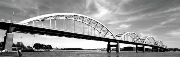 Centennial Bridge Photograph - Low Angle View Of A Bridge, Centennial by Panoramic Images