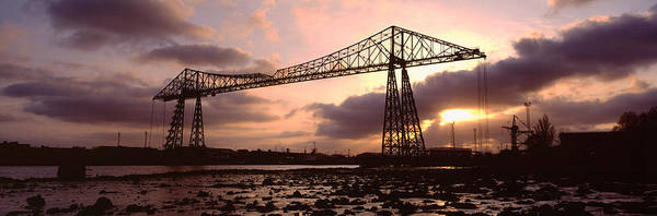 Transporter Wall Art - Photograph - Low Angle View Of A Bridge, Transporter by Panoramic Images