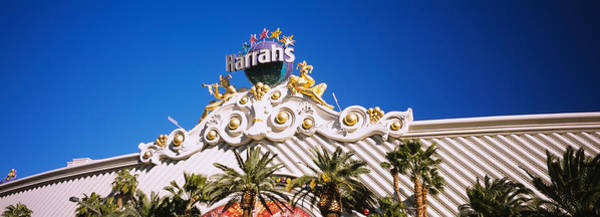 Harrahs Photograph - Low Angle View Of A Building, Harrahs by Panoramic Images
