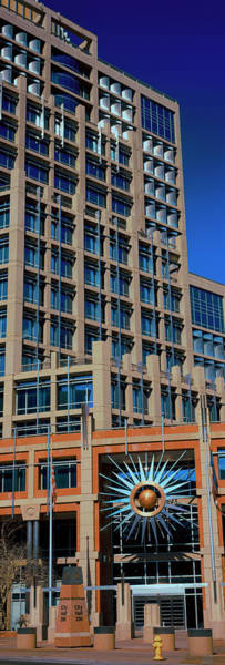 Maricopa Photograph - Low Angle View Of A Building, Phoenix by Panoramic Images